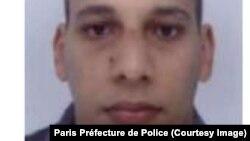 Chérif Kouachi (Photo Préfecture de Police de Paris)