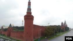 莫斯科克里姆林宫。开发远东,俄政府束手无策?(美国之音 白桦)