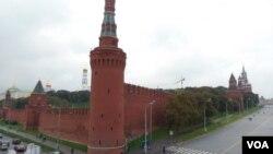 莫斯科克里姆林宮。開發遠東,俄政府束手無策?(美國之音白樺)