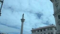 Un día agradable en Roma