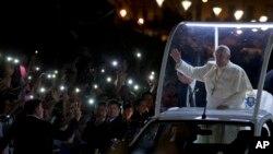 Los riesgos por la visita del papa a Estados Unidos son grandes, pero las autoridades estadounidenses dicen estar muy, muy vigilantes.