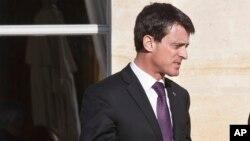 Manuel Valls à Paris, le 26 novembre 2015. (AP Photo/Michel Euler)