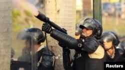 El mayor cuestionamiento es el uso de armas de fuego para controlar protestas en Venezuela.