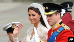 Princesa Catherine e o principe William
