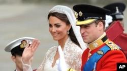 Princesa Catherine e o principe William