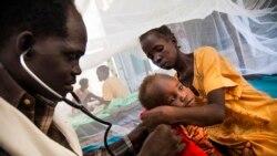 Le docteur Richard Fotsing, chargé de programmes pour l'OMS à Bangui