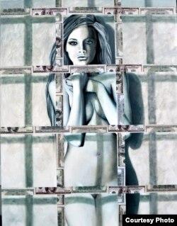 Оксана Танасів. Ув'язнена. Колекція Dollar Art. 2016 р.