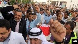 اعتراضات هزاران نفری دربحرین