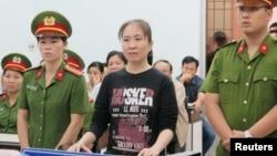 Blogger Mẹ Nấm cũng được đề cử giải Nobel Hòa bình nhưng hiện chưa rõ cô sẽ được xét cho giải năm 2018 hay 2019.