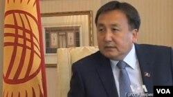 Асылбек Жээнбеков, спикер парламента Кыргызской Республики