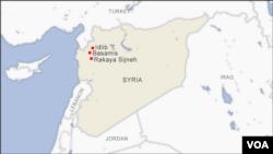 Rakaya Sijneh, Basamis and Idlib, Syria