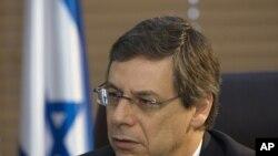 以色列副外长阿亚隆在耶路撒冷(资料照片)