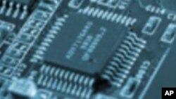 La puce mise au point par IBM a l'équivalent d'un million de neurones et de 256 millions de synapses programmables. (AP)
