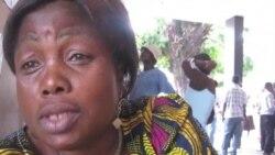 Une Congolaise donne son sentiment sur l'election