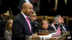 El alcalde de la ciudad de Filadelfia, Michael Nutter.