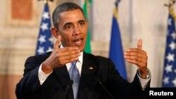 امریکہ کے صدر براک اوباما ( فائل فوٹو )