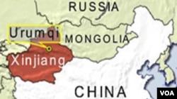 Provinsi Xinjiang, Tiongkok barat laut