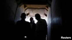 Túnel no Israel (foto de arquivo)