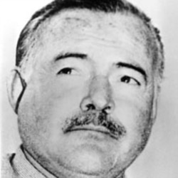 Ernest Hemingway was a reporter for the Kansas City Star newspaper early in his career