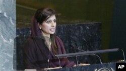 히나 라바니 카르 파키스탄 외무부장관 (자료사진)