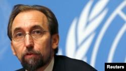 عکس آرشیوی از زید رعد الحسین کمیسر عالی حقوق بشر سازمان ملل متحد