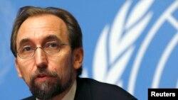 اقوامِ متحدہ کے ہائی کمشنر برائے انسانی حقوق زید رعد الحسین