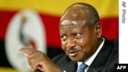 Uqanda prezidenti Yoveri Museveni