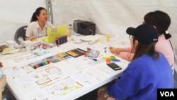 서울여자대학교 통일동아리 '딱친구'가 지난달 열린 통일박람회에 참가했다.