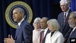 11月28日奥巴马在白宫发表讲话