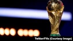 Chiếc cúp vàng của FIFA.