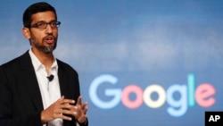 Sundar Pichai, CEO Google menerima kompensasi total 199 juta dolar AS pada tahun 2016, sebagian besar dari opsi saham (foto: ilustrasi).