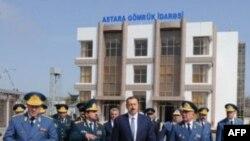 Azərbaycan prezidenti İranla həmsərhəd rayonlara səfər edib