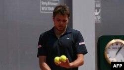 Tay vợt Stanislas Wawrinka của Thụy Sĩ