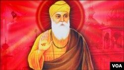 سکھ مت کے بانی گرونانک جن کا ننکانہ صاحب میں جنم ہوا تھا