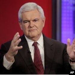 L'ancien président de la Chambre, Newt Gingrich