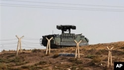 Turska vojska pozicionirana kraj mjesta Akcakale, na tursko-sirijskoj granici , 5.10.2012.