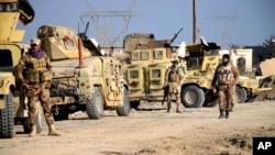 پیشروی نیروهای ارتش عراق به سمت رمادی مرکز استان الانبار - ۳۰ آذر ۱۳۹۴