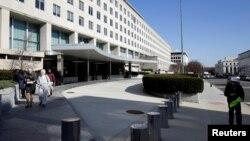 Здание Госдепартамета США в Вашингтоне (архивное фото)