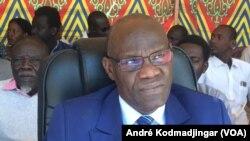 Djimet Arabi, ministre de la justice garde des sceaux chargé des droits humains, Tchad, le 15 décembre 2019. (VOA/André Kodmadjingar)