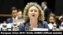 Джудіт Сарґентіні, депутат Європарламенту від Нідерландів, яка працювала над звітом зі звинуваченнями щодо уряду Угорщини