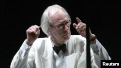Sir George Martin conducts the Hollywood Bowl Orchestra with a program of music by the Beatles.