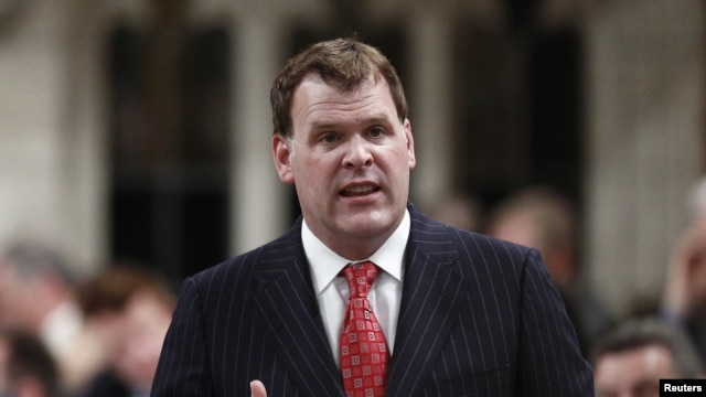 Canada's Foreign Minister John Baird (file photo)