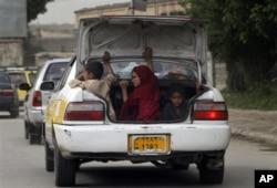 Un taxi afghan