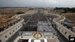 Las fotos de la santificación