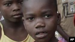 Crianças angolanas