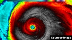Foto del Huracán Patricia tomado por el satélite Suomi NPP de la NASA-NOAA a las 5:20 a.m. hora del Este de EE.UU., el 23 de octubre de 2015.
