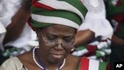 'yar jam'iyya PDP da ta wakilci Adamawa a taron jam'iyyar na kasa