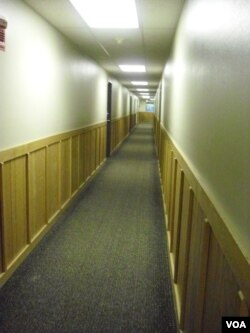 Niskanen Hall hallway
