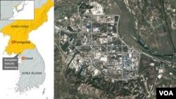 開城工業園區地理位置圖