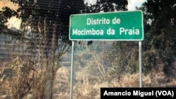 Icyapa cyerekana aho akarere ka Mocímboa da Praia mu ntara ya Cabo Delgado muri Mozambique gatangirira. Kari kamaze iminsi mu maboko y'inyeshyamba. Ubu kigaruriwe n'ingabo za Leta zifashijwe n'izu Rwanda.